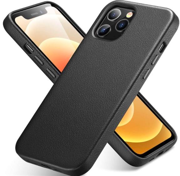 ESR Premium Real Leather Desigened for iPhone 12 Pro Max