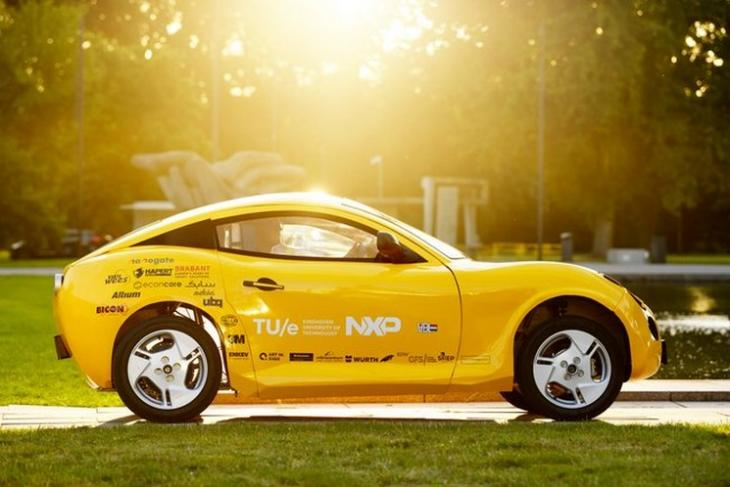 Ev made from plastic waste feat.