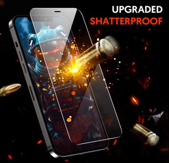 Fotbor for iPhone 12 Pro Max Screen Protector