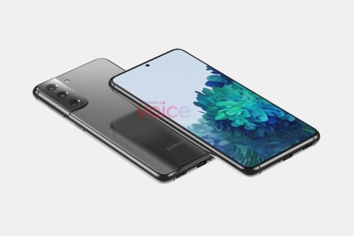 Galaxy S21 renders leak; first look at Samsung Galaxy S21