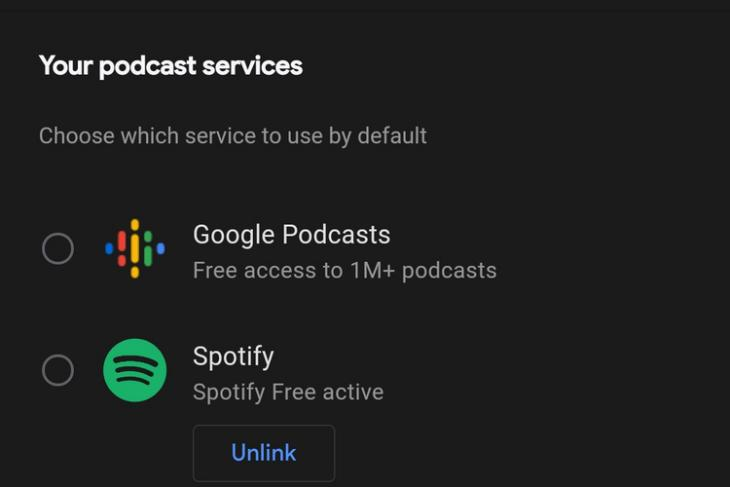 Google Assistant Now Lets You Set Spotify as Your Default Podcast Service