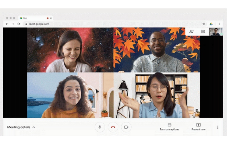 Google Meet video conferencing now looks a lot more like Zoom