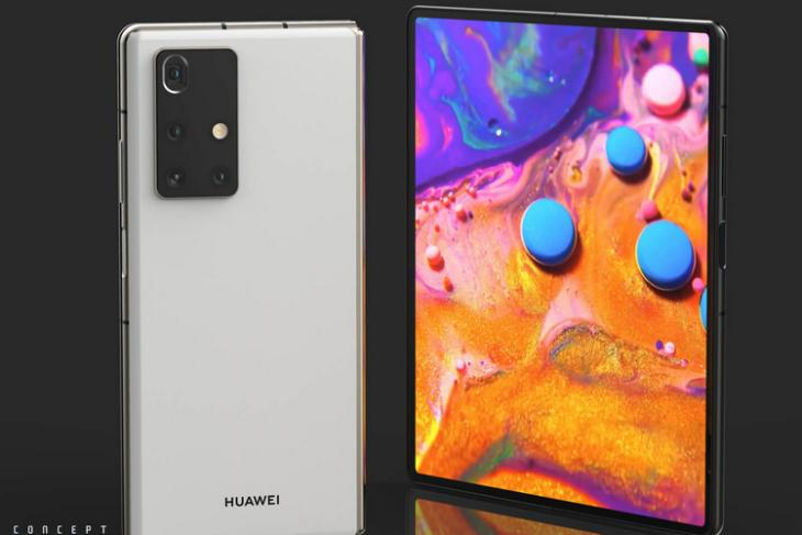 Huawei Mate X2 Looks Almost like the Galaxy Z Fold 2