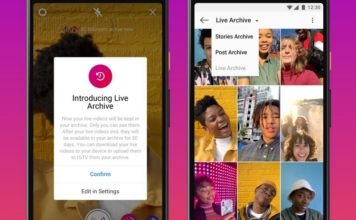 Instagram Extends Live Stream Duration to 4 Hours and Adds Live Archive