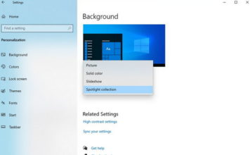 Microsoft to Add Desktop Spotlight on Windows 10 ft