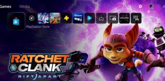 PlayStation 5 UI seak peek website