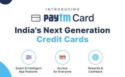 Paytm Credit Cards website