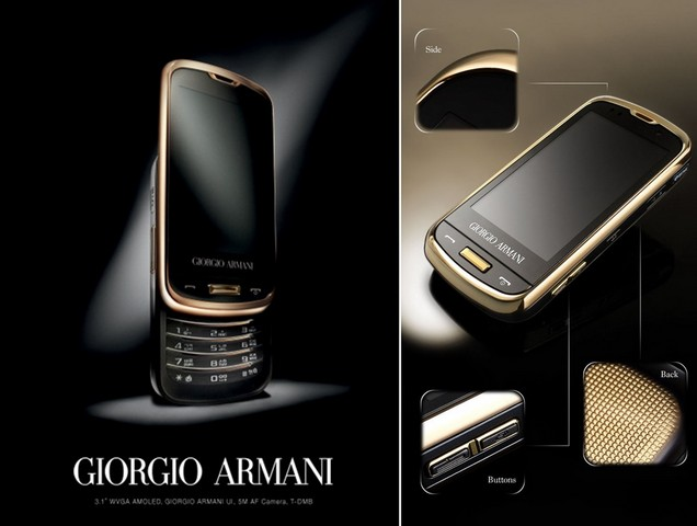 Samsung collaboration armani 2