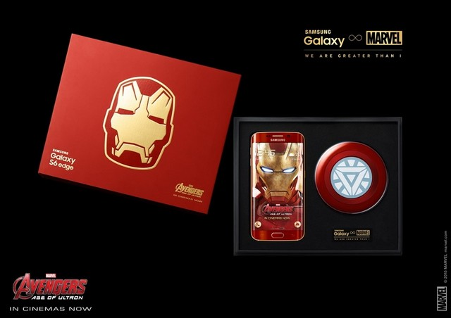 Samsung collaboration iron man