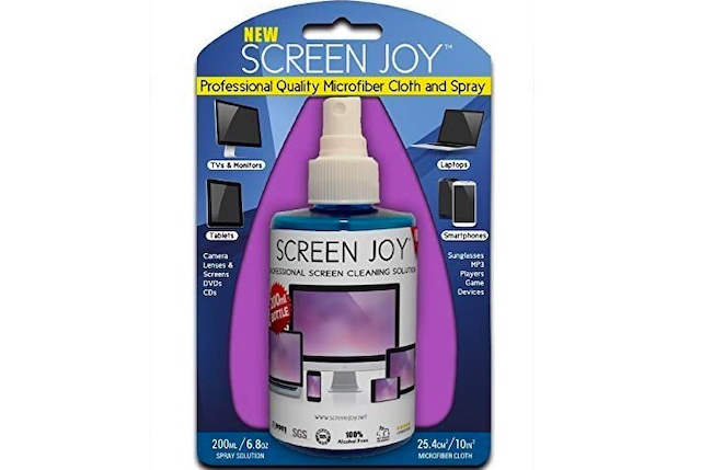 Screen Joy Computer Screen Cleaner and Microfiber Cloth