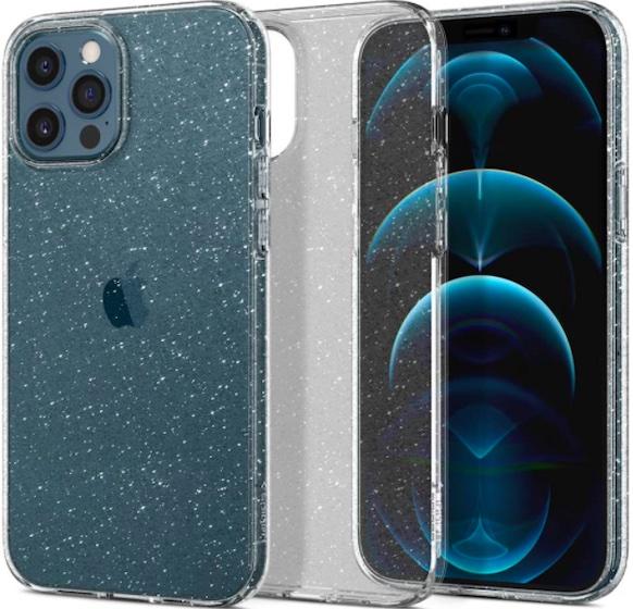 Spigen Liquid Crystal Glitter Designed for Apple iPhone 12 Pro Max