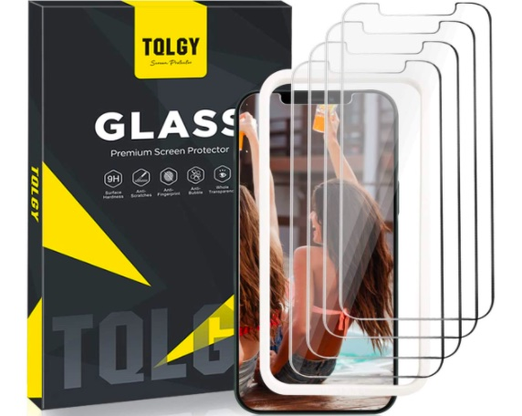 "TQLGY Screen Protector for iPhone 12 Pro Max 6.7"" 2020"