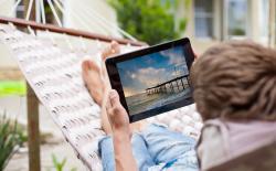 Tablet shutterstock website