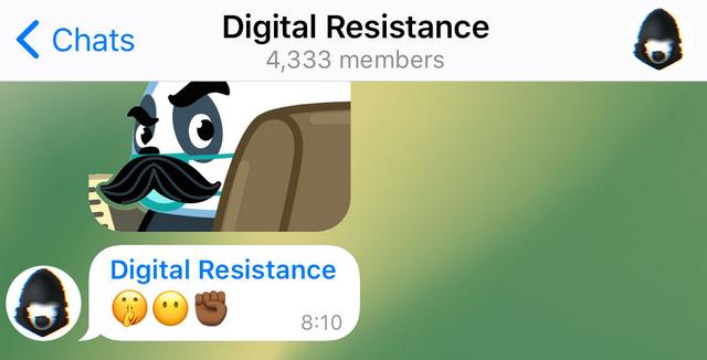 Telegram Anonymous Group Admins