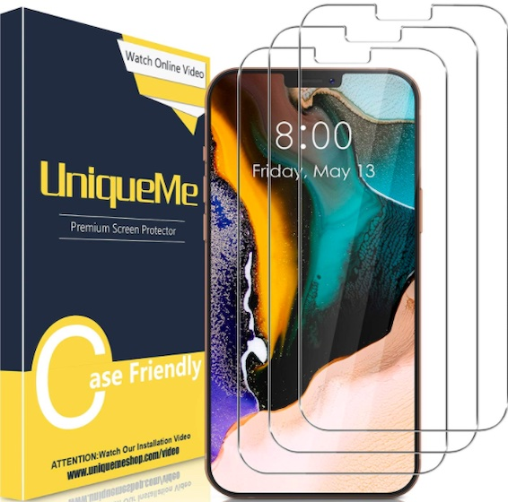 UniqueMe Screen Protector for iPhone 12 Pro Max 6.7 inch
