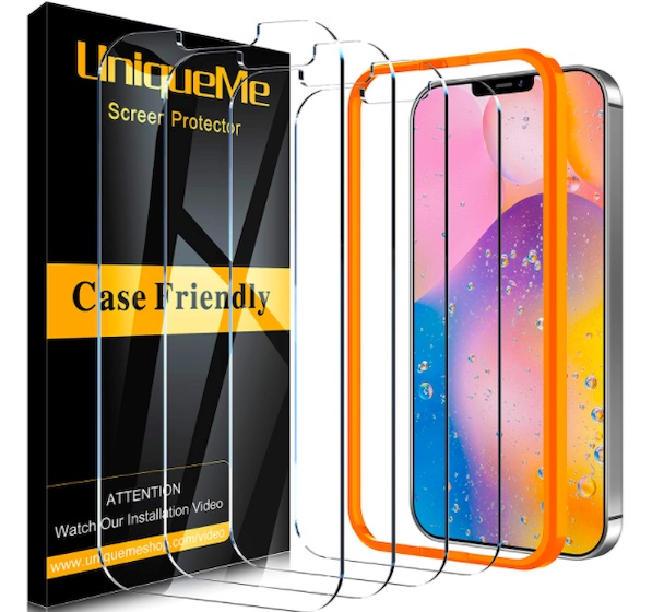 UniqueMe Screen Protector for iPhone 12