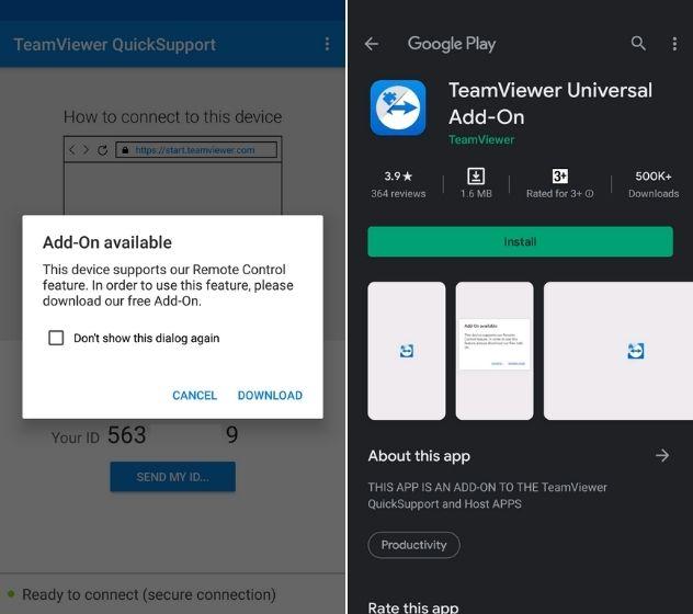 Удаленное управление смартфоном Android с другого смартфона Android