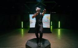 Virtuix omni one VR gaming treadmill