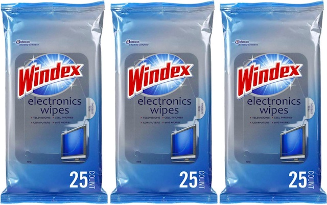 Windex Electronics Screen Wipes for Computers, Phones, Televisions