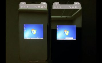 YouTuber running win 7 on iphone 12 pro feat.