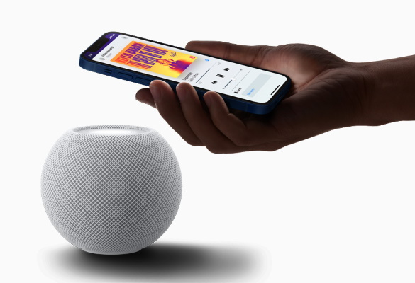 apple homepod mini - iphone hand-off