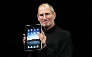 apple ipad intel chips were a possibility, steve jobs