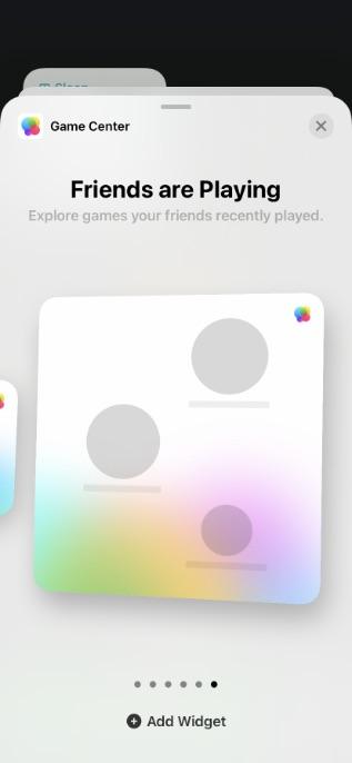 game center widget ios 15 iphone widgets