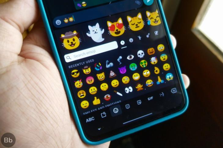 gboard emoji picker