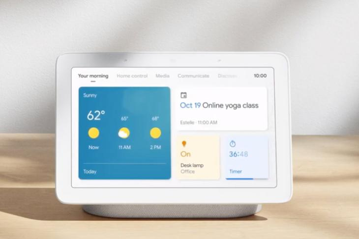 google smart display new interface
