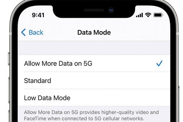 iPhone 12 ios update over 5G feat.