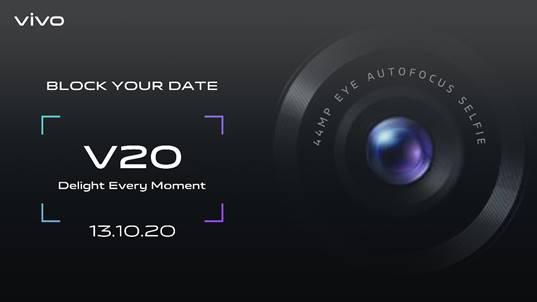 vivo v20 launch date
