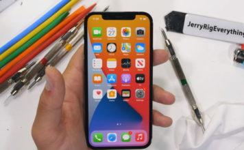 iphone 12 ceramic shield - scratch resistance