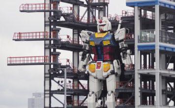 japan gundam robot feat.