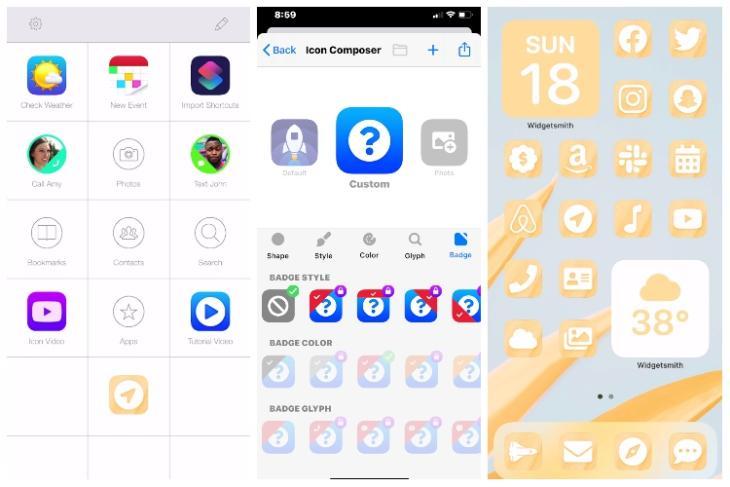 launch center pro custom icons iOS 14 feat.