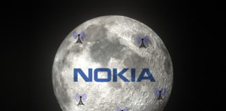 nokia brings 4G network to moon