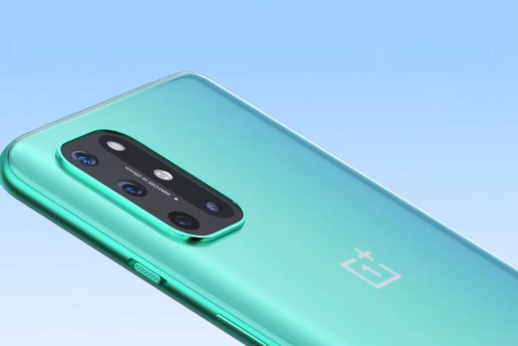 oneplus 8T official design reveal