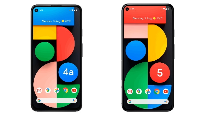 pixel 4a 5g vs pixel 5 - display
