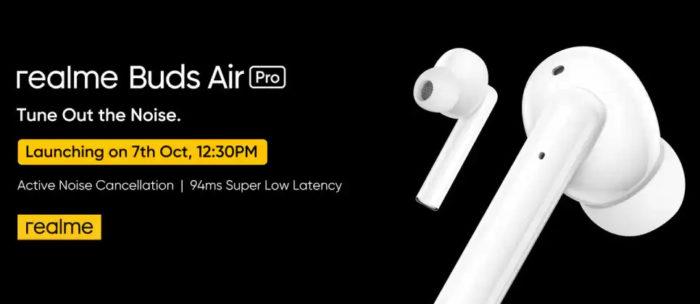 realme-Buds-Air-Pro-flipkart-launch-teaser