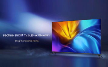 realme smart TV SLED 4K launched in India