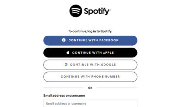spotify sign in with google