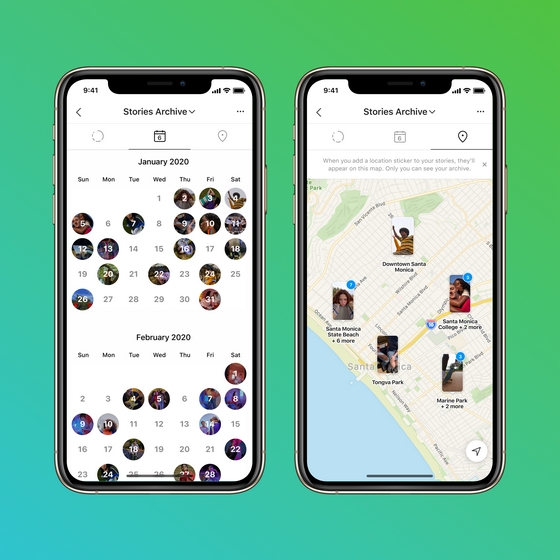 stories map archive