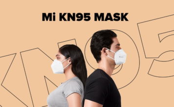 xiaomi launched mi K95 mask india
