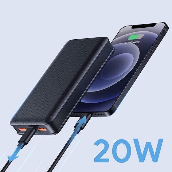1. 20 Watt USB Power Delivery