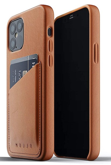 1. Mujjo Full Leather Wallet Case for iPhone 12 Pro