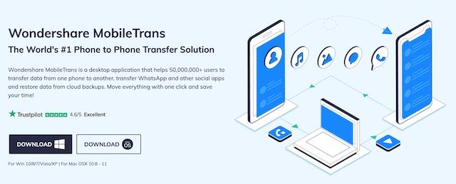 1. Wondershare MobileTrans