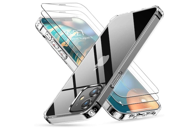 10. ANEMAT iPhone 12 mini Case with Screen Protector