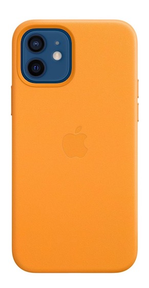 2. iPhone 12 Pro Leather Case with MagSafe