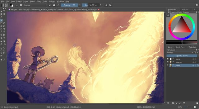 2. Krita Best Procreate Alternatives for Windows 10