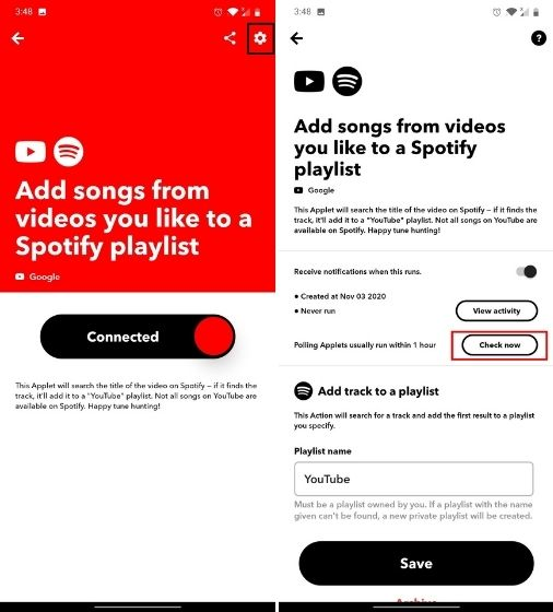 Keep YouTube Music and Spotify Playlist in Sync