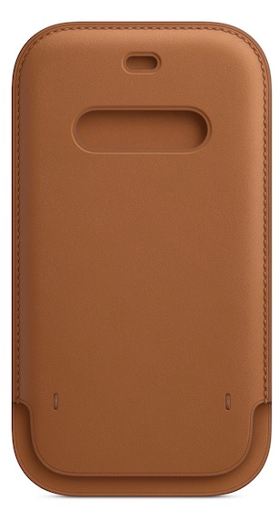 4. iPhone 12 Pro Leather Sleeve from Apple
